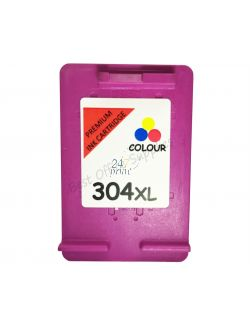 Refilled HP N9K07AE Inkt Cartridge  3- Kleuren van 247print.nl