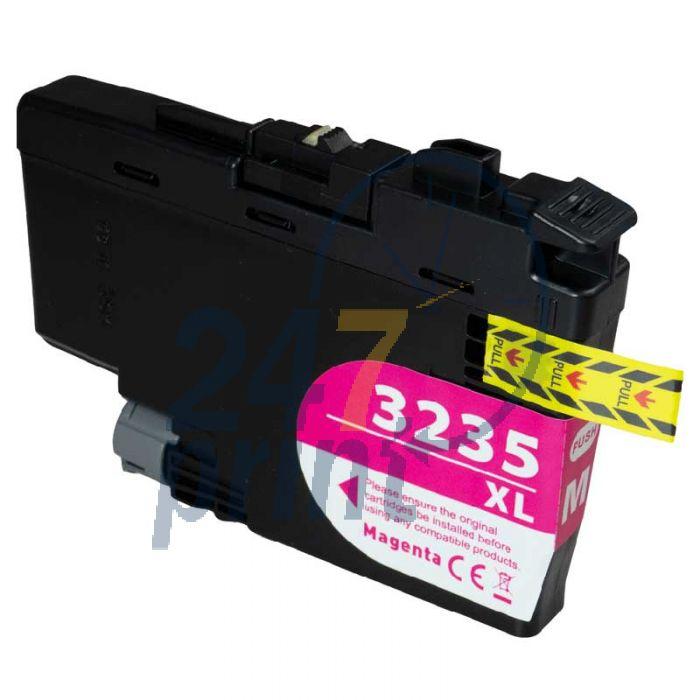 Compatible BROTHER LC-3235 XL Magenta Inkt Cartridge  Magenta van 247print.nl