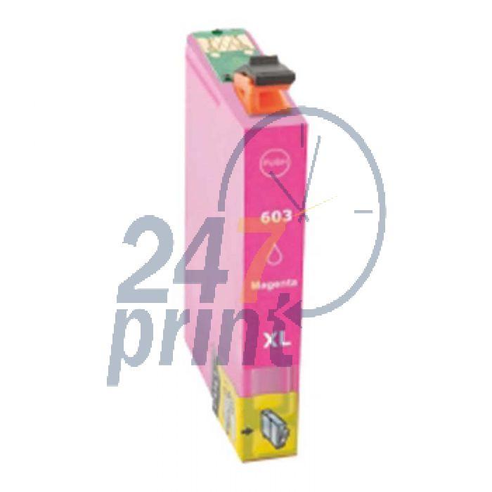 Compatible EPSON 603XL / C13T03A34010 Inkt Cartridge  Magenta van 247print.nl