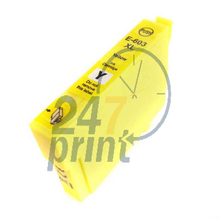 Compatible EPSON 603XL / C13T03A44010 Inkt Cartridge  Geel van 247print.nl