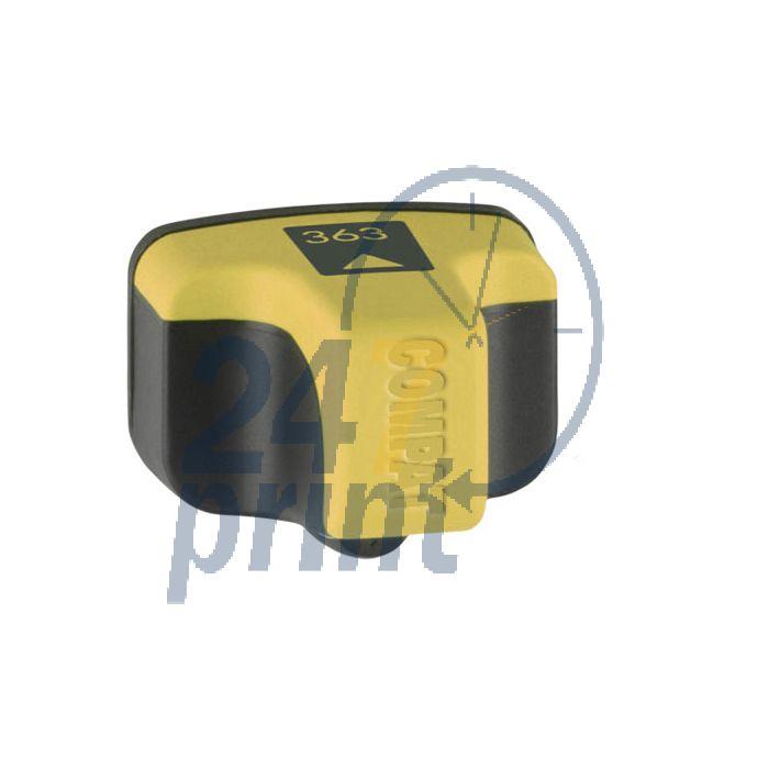 Compatible HP HP 363Y / C8773E Inkt Cartridge  Geel van 247print.nl