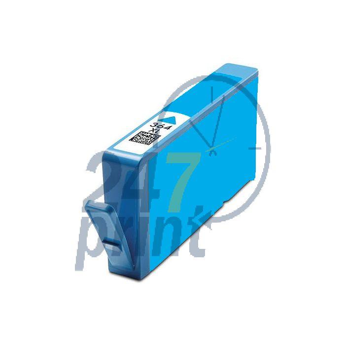 Compatible HP CB323EE Inkt Cartridge  Cyaan van 247print.nl