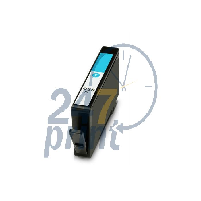 Compatible HP 935XL / C2P24AE Inkt Cartridge  Cyaan van 247print.nl